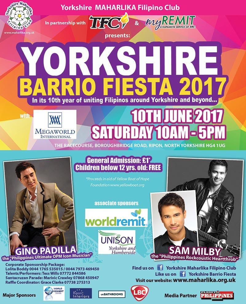 Yorkshire Barrio Fiesta