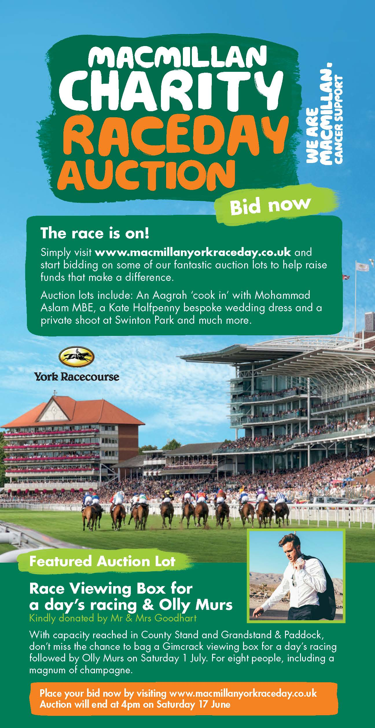 Macmillan Charity Raceday