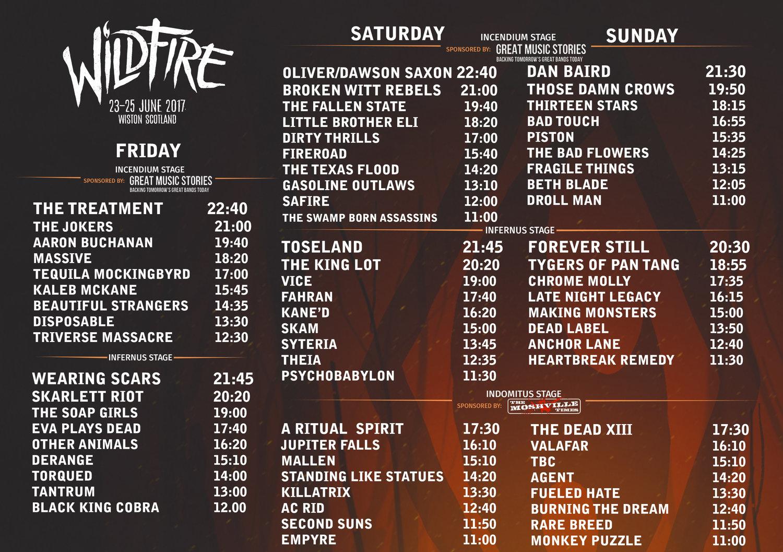 Wildfire Festival
