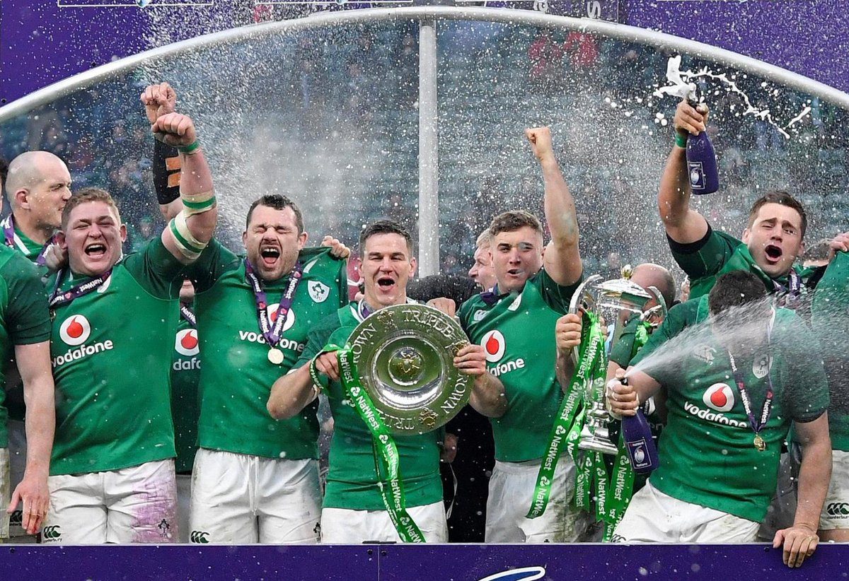 2018 Six Nations champions Ireland