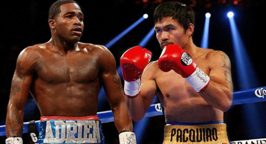 Adrien Broner vs Manny Pacquiao