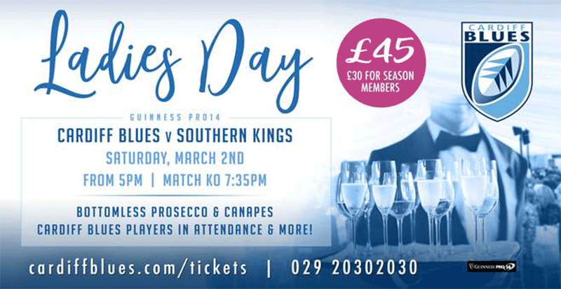 Cardiff Blues Ladies Day
