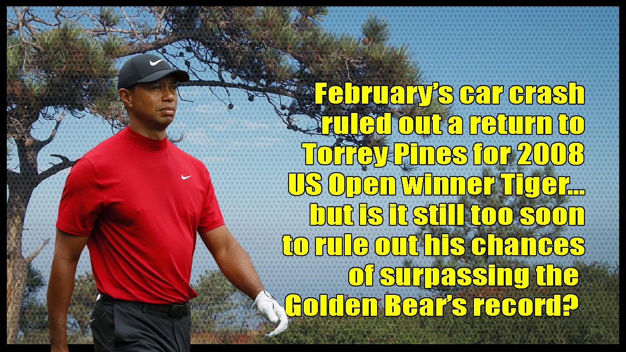 Just one step at a time for Tiger